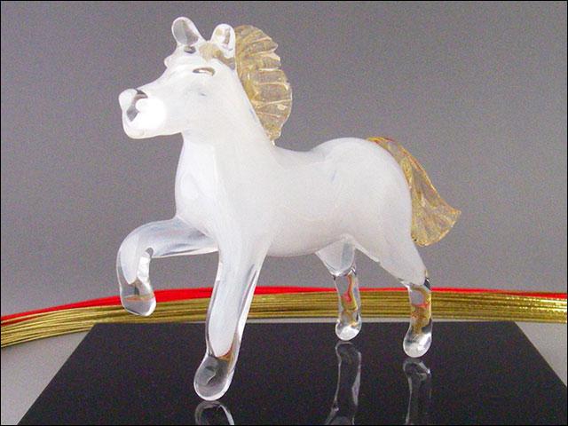 ガラスの馬(置物・干支にも)