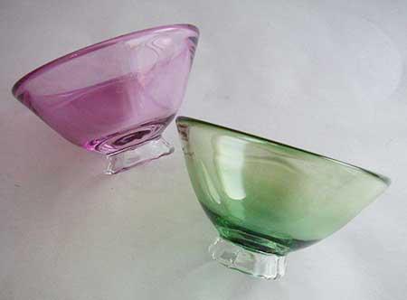 お茶碗ガラス