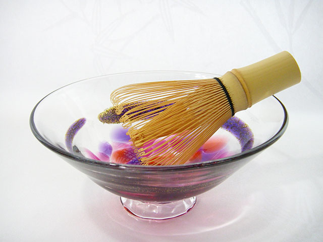 夏茶碗・玉藻~赤~