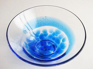 夏茶碗・玉藻~青~