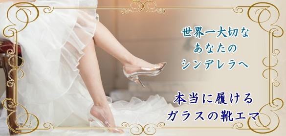 本当に履けるガラスの靴~エマ~