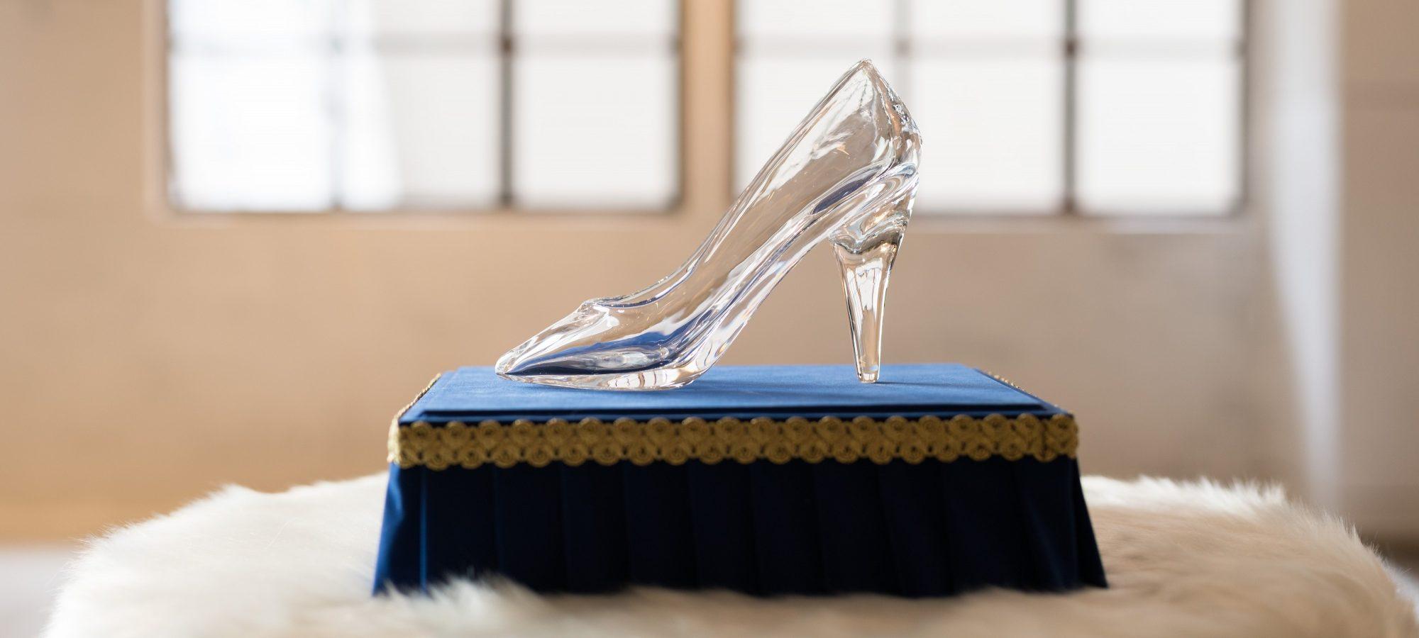 光を奏でるガラスの靴
