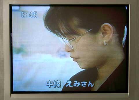 スーパーJチャンネル中村映水グラスアーティスト