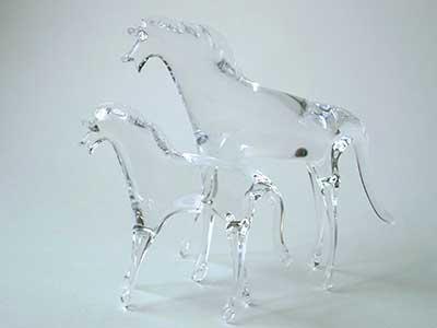 ガラスの馬
